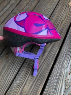 Infant/Toddler girls bike helmet