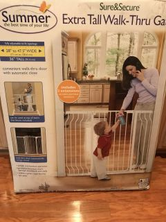 Summer Sure & Secure Extra Wide Baby Gate