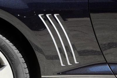 Purchase ACC 102081 - 10-13 Chevy Camaro Fender Vent Grille Vinyl Insert Car Chrome Trim motorcycle in Hudson, Florida, US, for US $22.94
