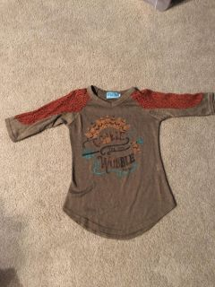 Size 6-8 boutique purchased thanksgiving shirt