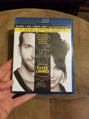 WATCHED 1X SILVER LINGINGS PLAYBOOK/ BLUE RAY & DVD