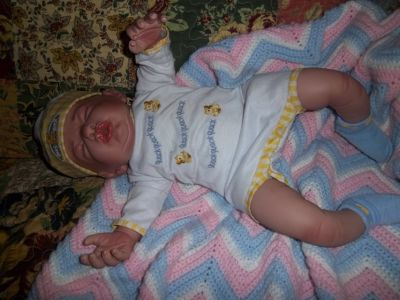 cute newborn baby doll