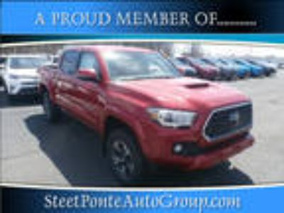 2018 Toyota Tacoma Red, 157 miles