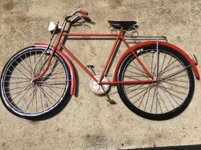 Unique 35 x21 Metal Bicycle Wall Decor $45 Must Pickup In McDonough