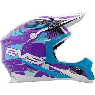 Purchase EVS T7 Helmet Crossfade Purple M 338-30153 Medium VortexT7 Series motorcycle in Holt, Michigan, US, for US $169.00