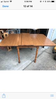 Kitchen/Dining room table with 8 chairs