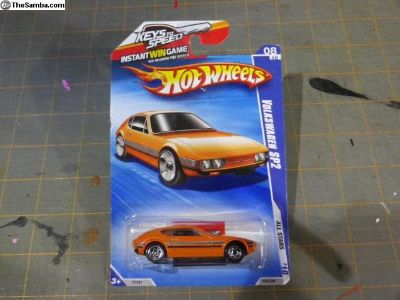 SP2 VW Orange HotWheels and Roll Patrol