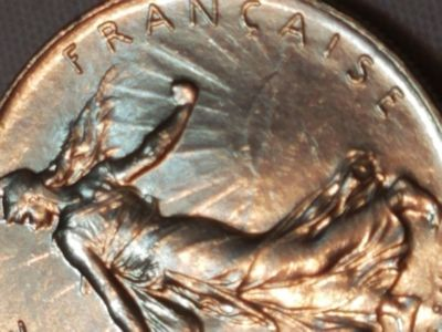 1976 Franc Fraternite Republic of France Collectible Coin Foreign Money Currency
