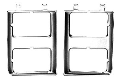 Buy Replace GM2512126PP - 85-88 Chevy Blazer LH Driver Side Headlight Door Brand New motorcycle in Tampa, Florida, US, for US $11.42