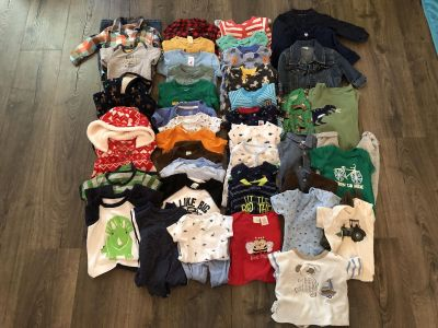 Baby boys size 6 month clothing lot