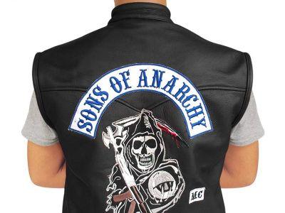 Sons of Anarchy Vest for sale - SOA Leather Samcro Vest