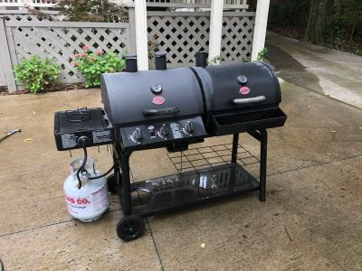 Barely Used Char-Grilled Duo 5050