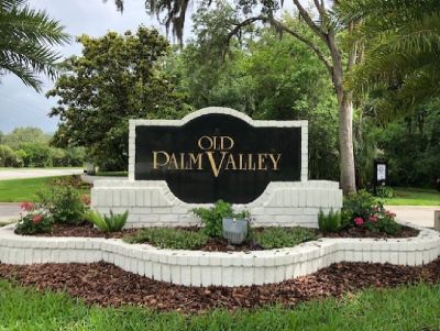 Neighborhood Yard Sale in Old Palm Valley Subdivision