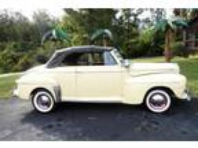 1946 Ford FORD CONVERTIBLE DELUXE