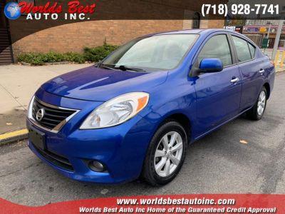 2013 Nissan Versa 1.6 S (Blue Onyx Metallic)