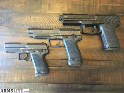For Sale: HK Mk 23, USP Expert, and USP Compact