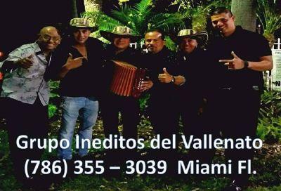 Grupo Ineditos del Vallenato / 786 355 3039