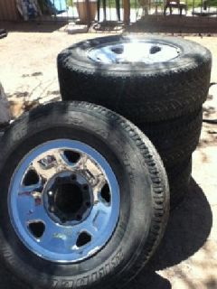 $550 OBO 17 inch Bridgestone tires/rims