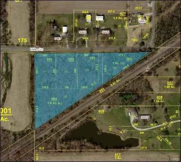 0 Miller Drive Edwardsville, More than 5-1/2 wooded acres