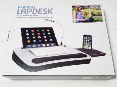 Portable Lapdesk - Brand New Sofia + Sam Portable Lapdesk with Memory Foam - Never Used