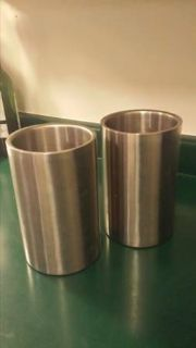 Chrome Wine Chillers- 2 for sale