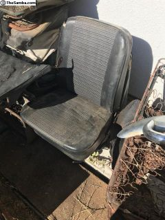 60s ghia low back front seats