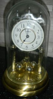 Westminster Chime Timex Anniversary Mantle Clock