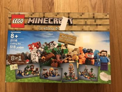 LEGO Minecraft Crafting Box