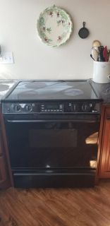 Maytag glass top stove
