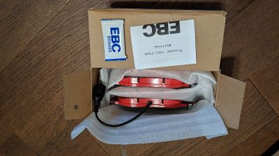 PP/Golf R 340mm front EBC Red Stuff Pads - Brand New