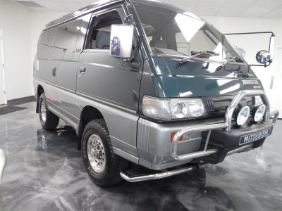 1992 Subaru Delica Super Exceed (Green)