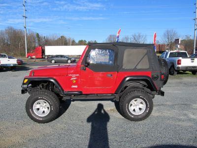 2000 Jeep Wrangler Sport (Red)