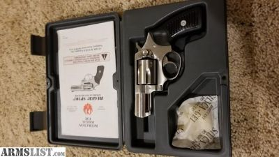 """For Sale: Ruger SP101 357/38 and Original Box 2.25"""" barrel $435"""