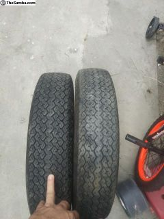 Old school tires 135 by 15