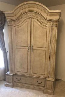 King bedroom set and other misc items