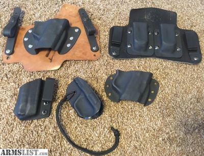 For Sale: CCW IWB Holsters
