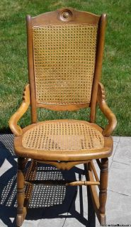 VINTAGE SEWING/NURSING ROCKER ROCKING CHAIR