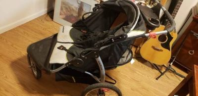 Expedition double Jogging stroller