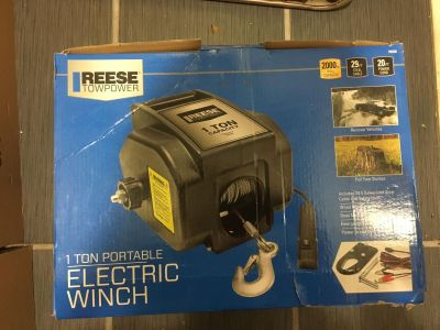 Reese 1 ton electric winch