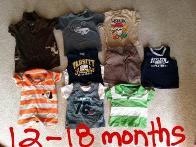 Baby boy clothes 12months-2T
