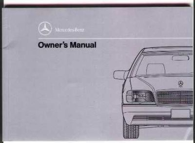 Purchase Mercedes Factory 1992 600SEL Owners Manual, New!! motorcycle in Carthage, Tennessee, United States, for US $14.99