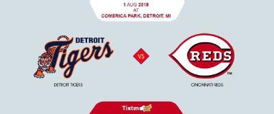 Detroit Tigers vs. Cincinnati Reds at Detroit - Tixtm.com