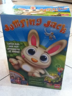 Jumpin' Jack game all pieces accounted for