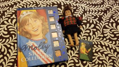 American Girl books and doll