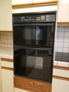 Whirlpool Gold Accubake Systems Microwave/Oven, Black