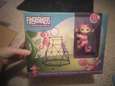 Authentic Aimee jungle gym fingerling set. New in box. $40 FIRM, what i pd on here and found one my son wanted