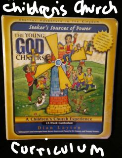 The Young God Chasers Children's Church materials