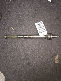 Find Mercury outboard XR4 prop shaft w/clutch 44-12238T 814756 18-2236 motorcycle in Stockton, California, United States, for US $250.00