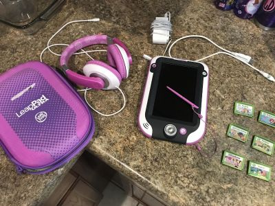 LeapPad Ultra tablet and accessories