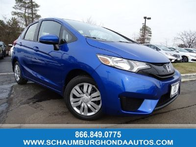 2017 Honda Fit LX (Aegean Blue Metallic)